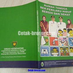 Cetak buku Dinas Kesehatan
