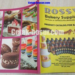 Cetak katalog bakery supplier