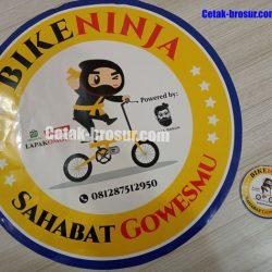 Cetak stiker bike ninja