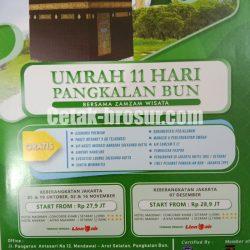 Cetak brosur Umrah
