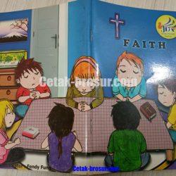 Cetak buku rohani Faith