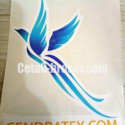Cetak stiker Cendratex.com