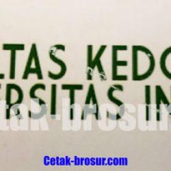Cetak stiker Falkutas kedokteran Universitas Indonesia