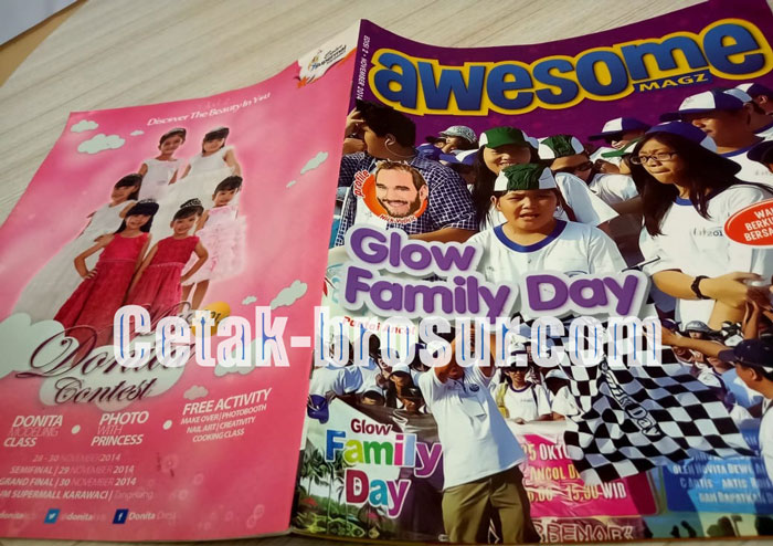 Cetak Majalah Awesome