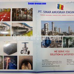 Cetak brosur PT. SINAR ANUGRAH ENGINEERING